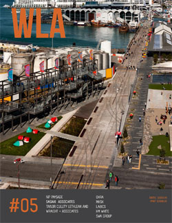 WLA #05 Landscape Architecture Quarterly Magazine
