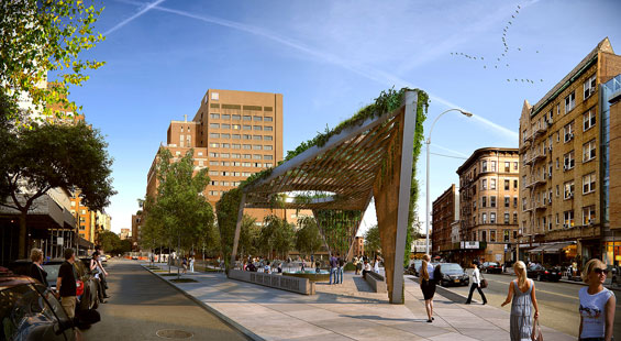 New York City AIDS Memorial new design approved by community board