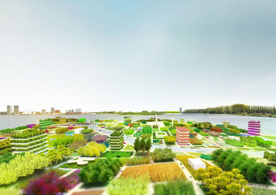 Almere with MVRDV wins Floriade 2022