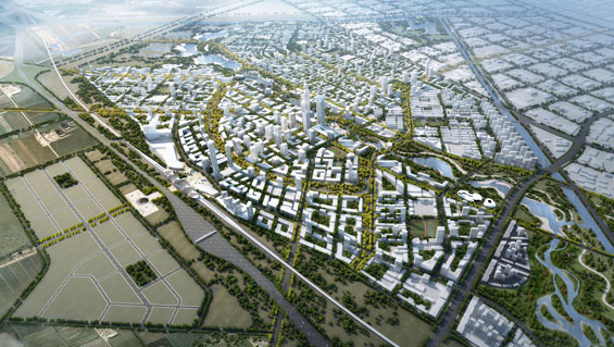 SOM Beijing Bohai Innovation City Master Plan